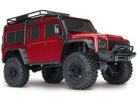 Traxxas TRX-4 Land Rover Defender 1:10 TQi RTR červený