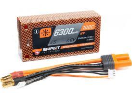 Spektrum Smart LiHV 7.6V 6300mAh 100C Short HC