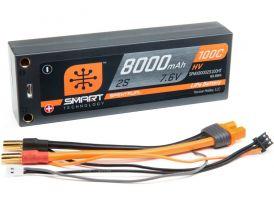 Spektrum Smart LiHV 7.6V 8000mAh 100C HC