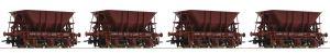 67076 - 4 piece set ore wagons, SJ