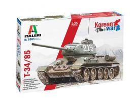 Italeri T-34/85 Korean War (1:35)