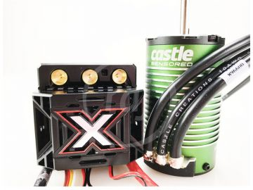 Castle motor 1515 2200ot/V senzored s reg. Mamba Monster X