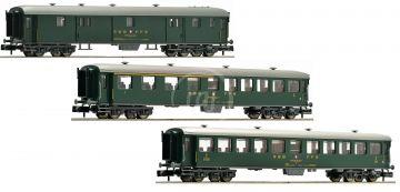 3tlg. Schnellzugwagen Set SBB