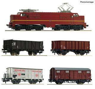 Set: 1224NS+Güterzug DC-Snd.