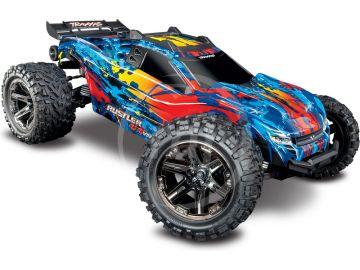 Traxxas Rustler 1:10 VXL 4WD TQi RTR červený