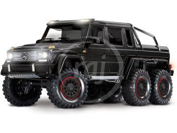Traxxas TRX-4 Mercedes G 63 6x6 1:10 TQi RTR černý