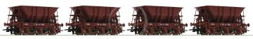67075 - 4 piece set ore wagons, SJ