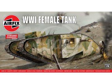 Airfix WWI Female Tank (1:76) (Vintage)