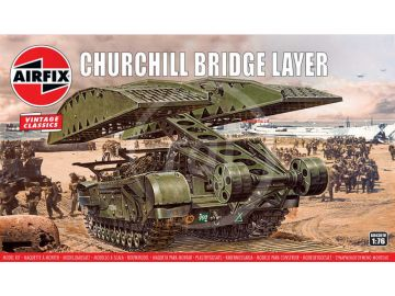 Airfix Churchill Bridge Layer (1:76) (Vintage)