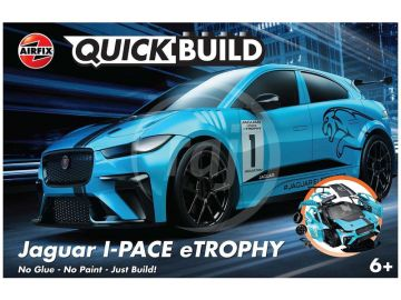Airfix Quick Build Jaguar I-PACE eTROPHY