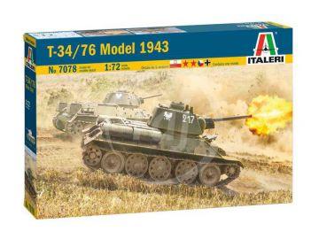 Italeri T-34/76 Model 1943 (1:72)