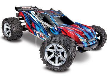 Traxxas Rustler 1:10 VXL 4WD TQi RTR modrý