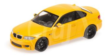 1:43 BMW 1ER COUPE - 2011 - YELLOW