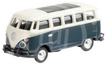 VW T1 SAMBA BUS BLUE