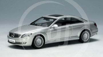 1:43 MERCEDES CL COUPE 2006 SILVER