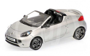 1:43 RENAULT WIND 2010 SILVER
