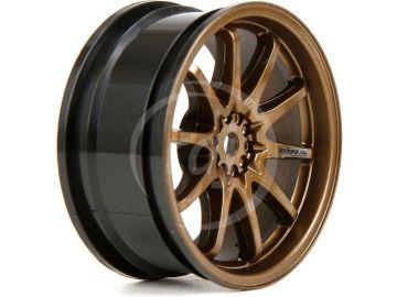 V100: Disk přední 54x26mm Volk Racing CE28N bronz (2)